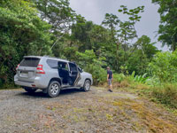 Toyota Prado used as main vehicle for an expedition in Panama, 2018.